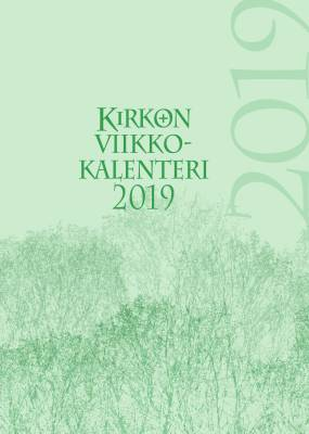 Kirkon viikkokalenteri 2019 (pelkkä vuosipaketti)