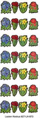 Kukka-tarrat (20 arkkia)