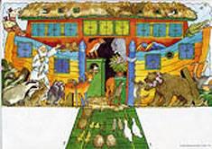 Nooan arkki 2-puoleinen taulu (20 kpl)
