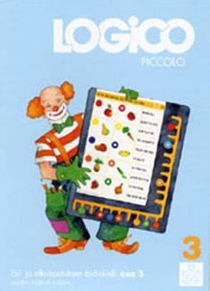 Logico Piccolo: Alkuopetuksen äidinkieli, suuraakkosista pienaakkosiin
