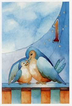 Toivotamme onnea 1-v./Polkutie (20 kpl)