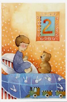 Toivotamme onnea 2-v./Polkutie (20 kpl)